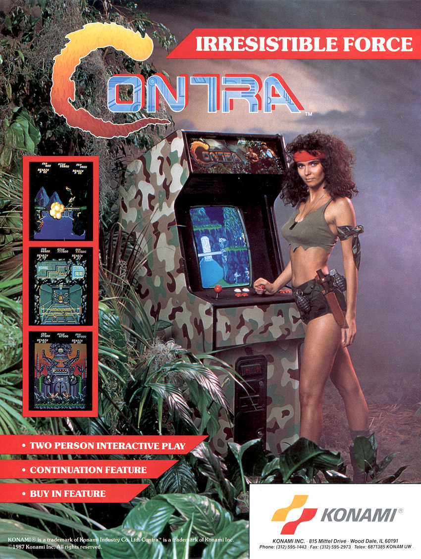 Contra (US / Asia, set 1) flyer