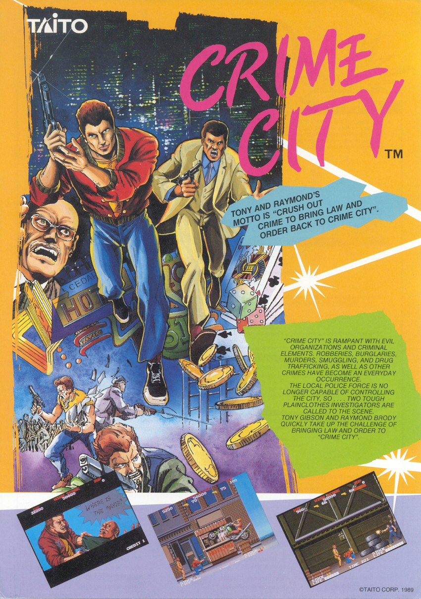 Crime City (World) flyer