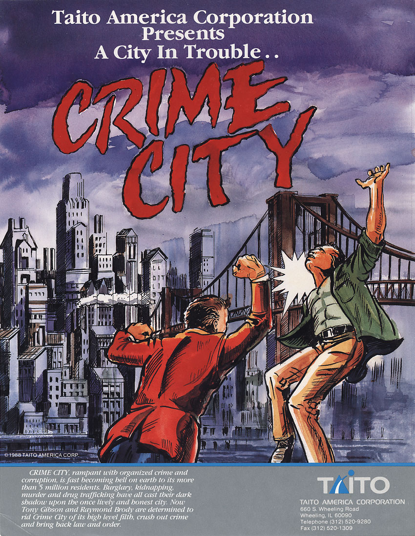 Crime City (US) flyer
