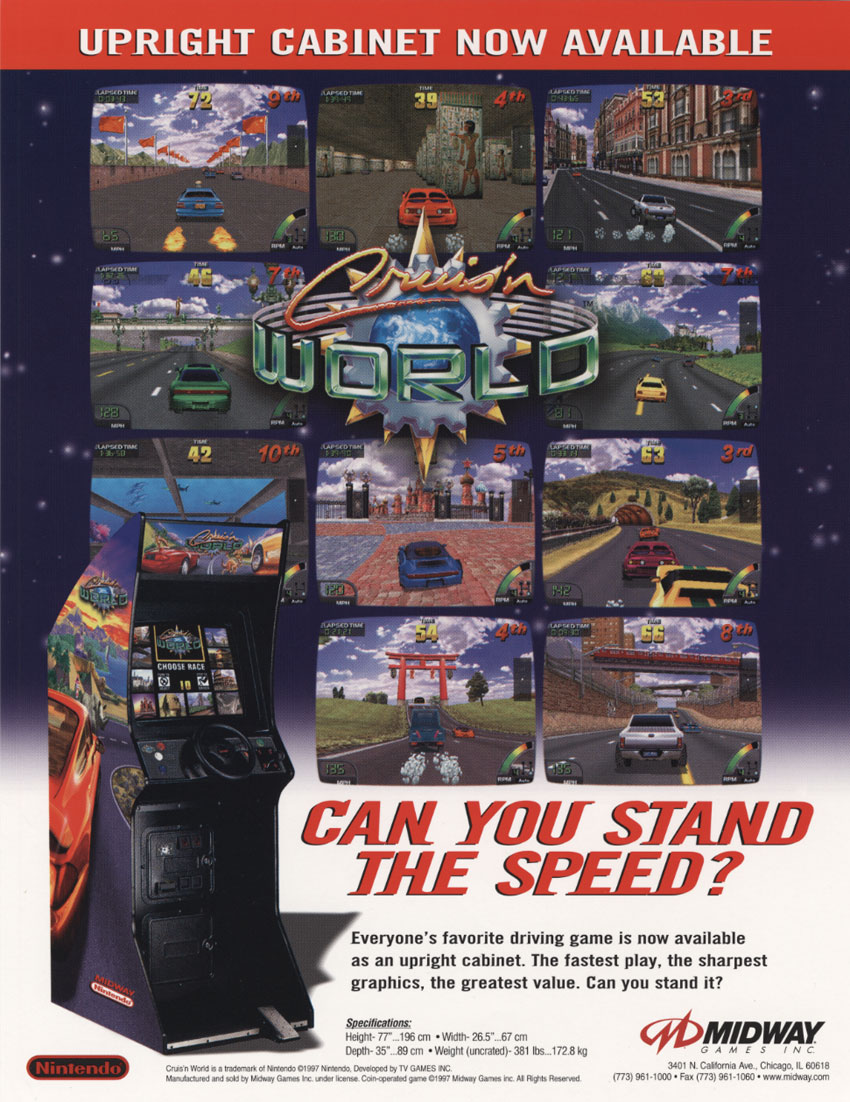 Cruis'n World (rev L2.0) flyer