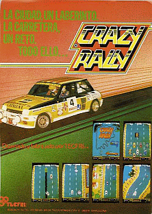 Crazy Rally (set 1) flyer
