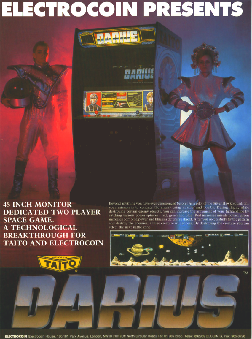 Darius (World, rev 2) flyer