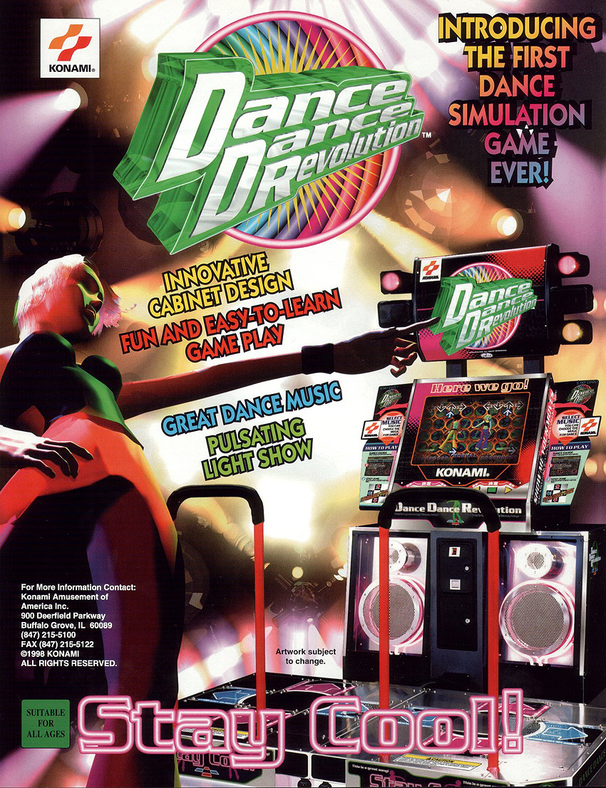 Dance Dance Revolution (GN845 VER. AAA) flyer