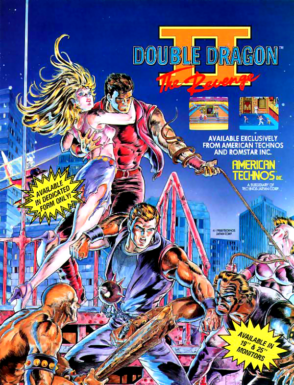 Double Dragon II - The Revenge (World) flyer
