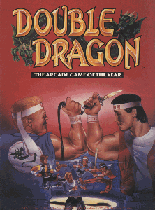 Double Dragon (bootleg with HD6309) flyer