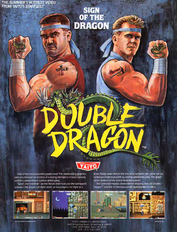 Double Dragon (US set 1) flyer