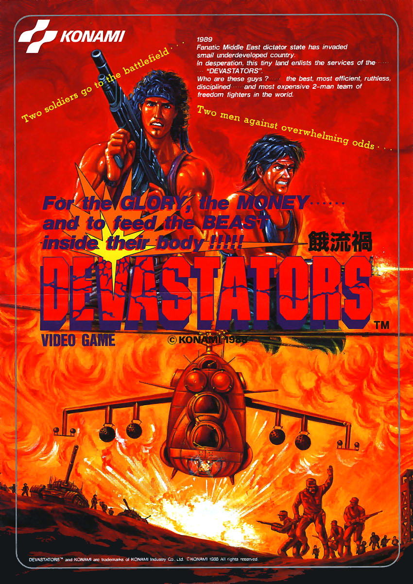 Devastators (ver. X) flyer