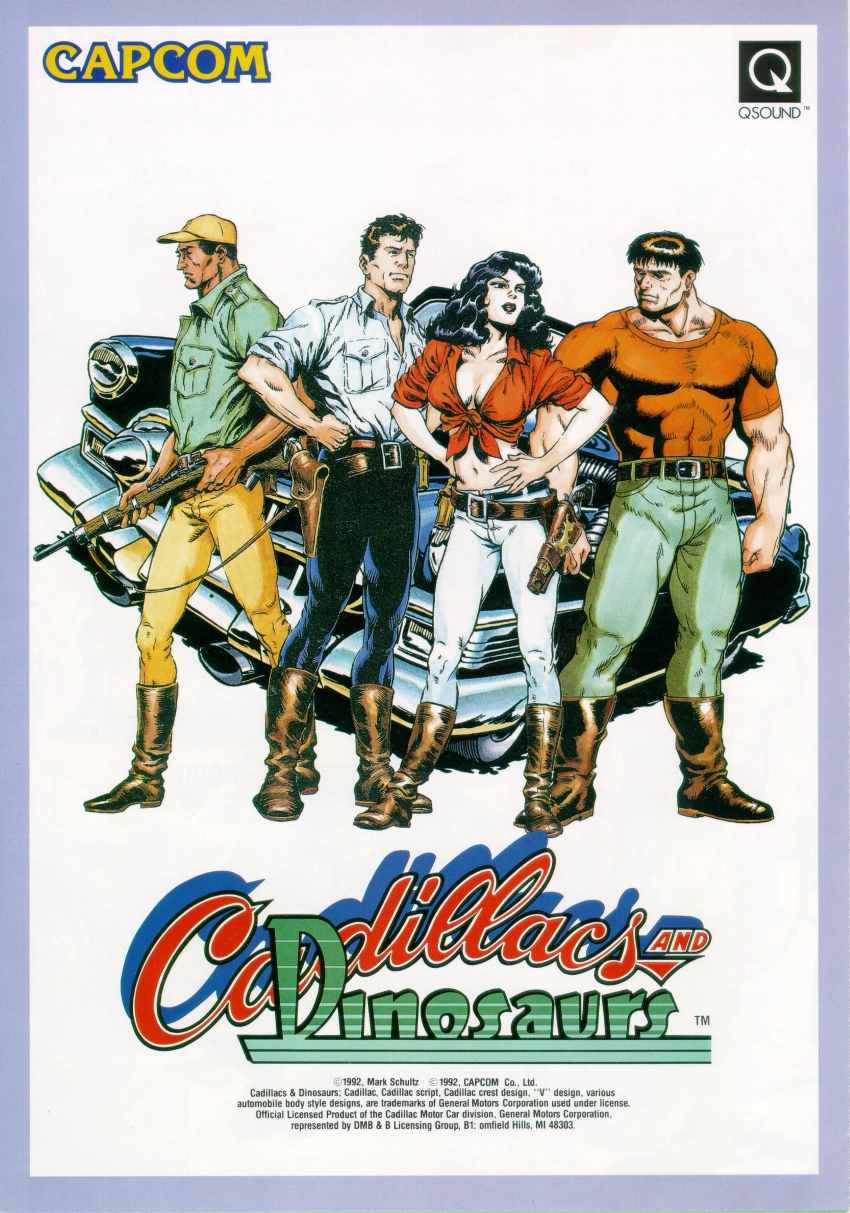 Cadillacs and Dinosaurs (World 930201) flyer