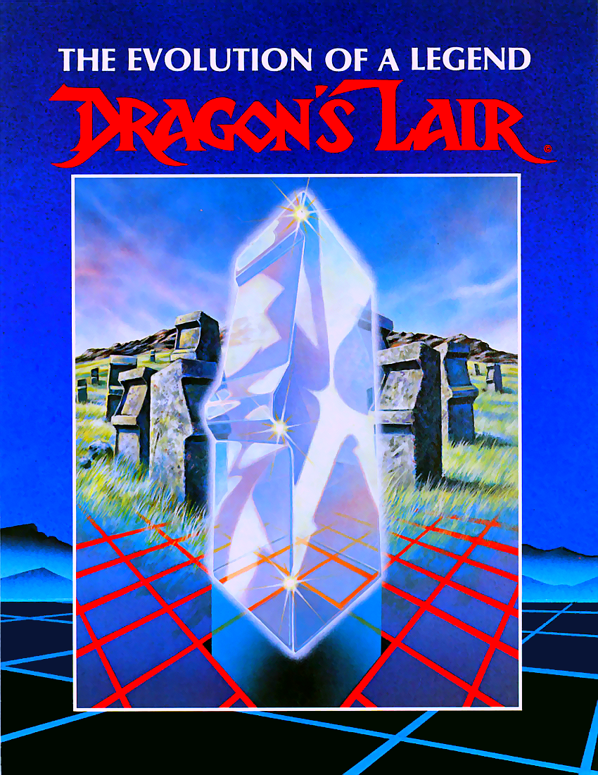 Dragon's Lair (European) flyer