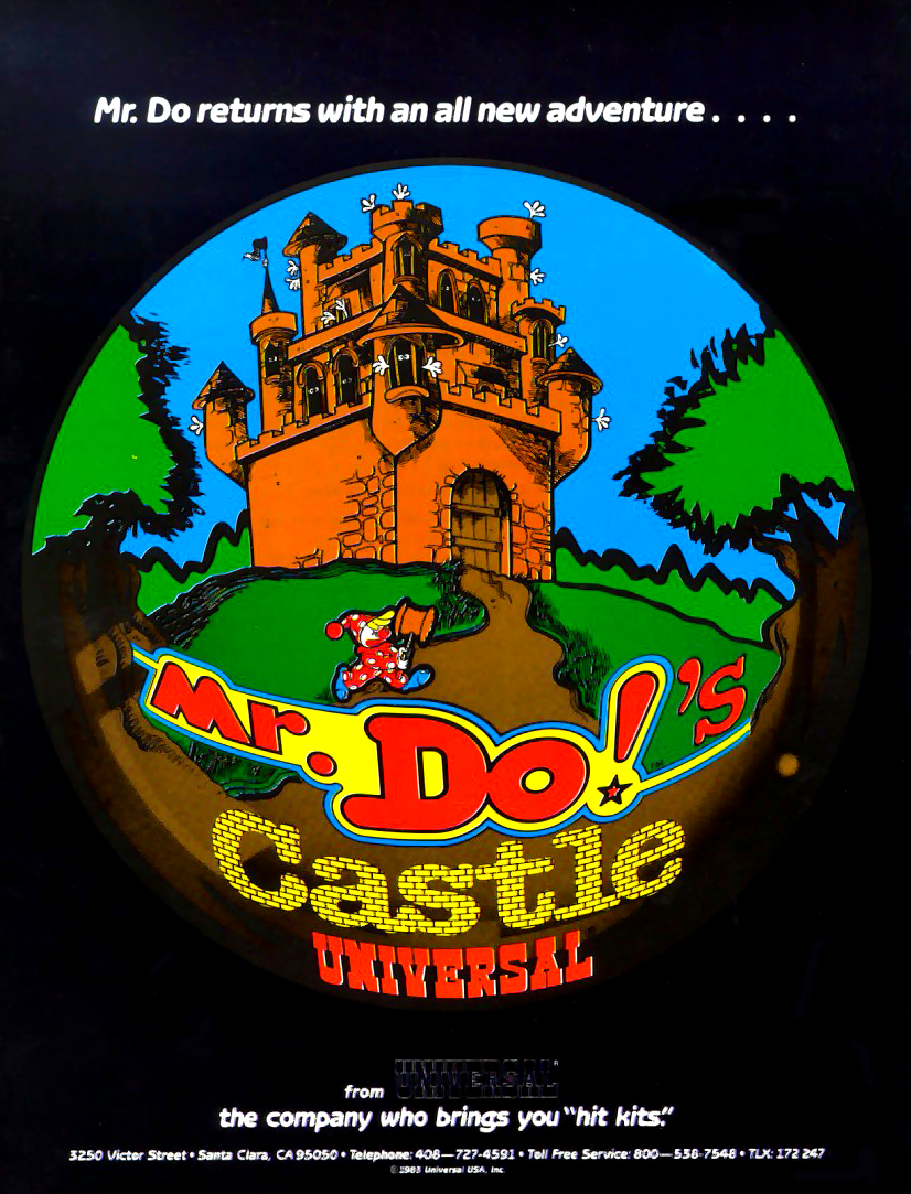 Mr. Do's Castle (older) flyer