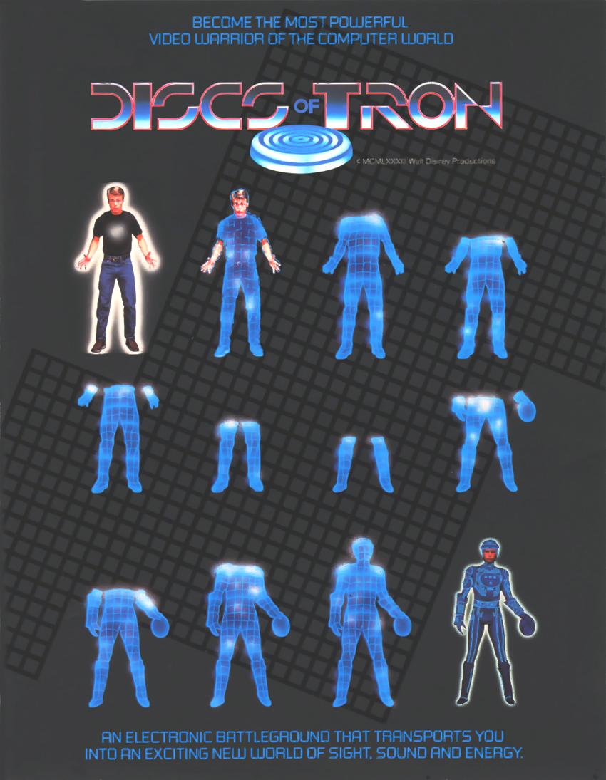 Discs of Tron (Upright) flyer