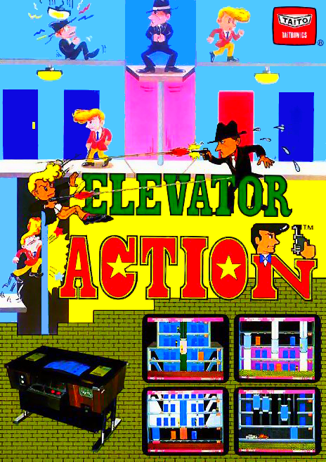 Elevator Action (5 pcb version, 1.1) flyer