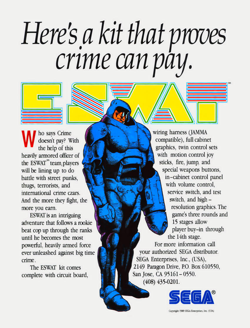 E-Swat - Cyber Police (set 4, World) (FD1094 317-0130) flyer