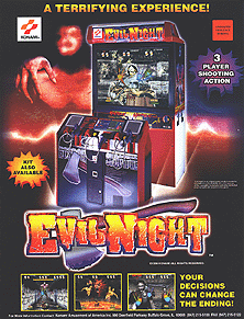 Evil Night (ver UBA) flyer