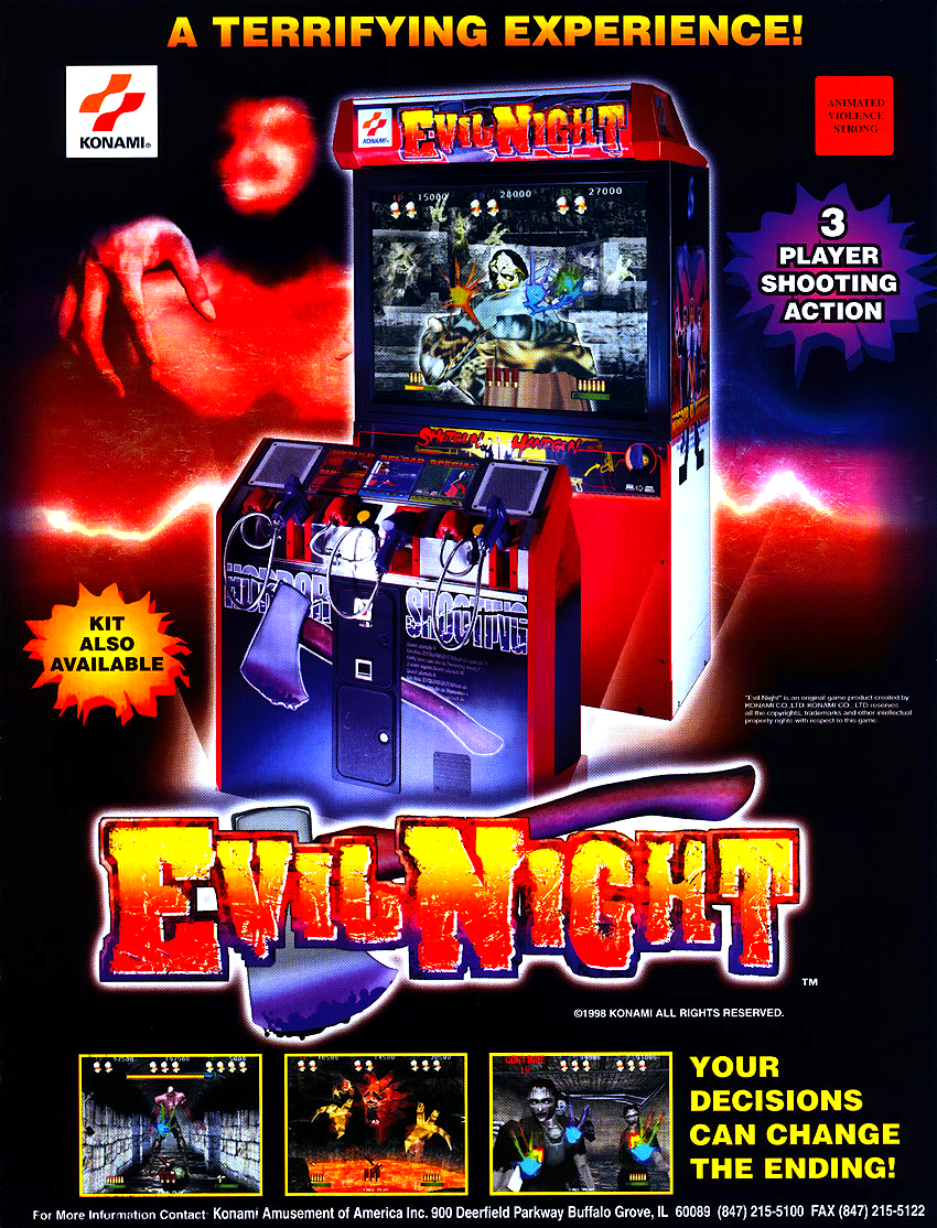 Evil Night (ver EAA) flyer