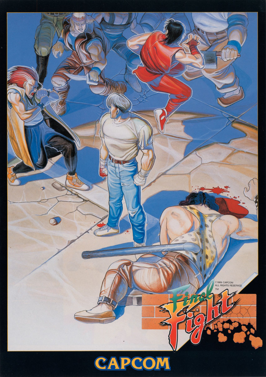 Final Fight (Japan) flyer