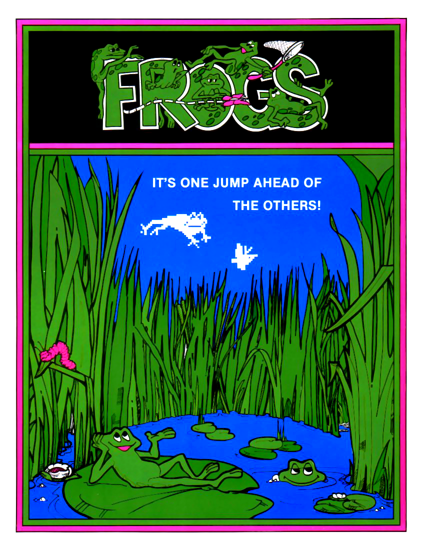 Frogs flyer