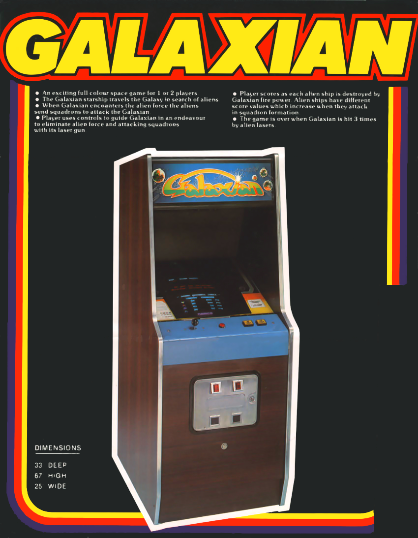Galaxian (Midway set 1) flyer