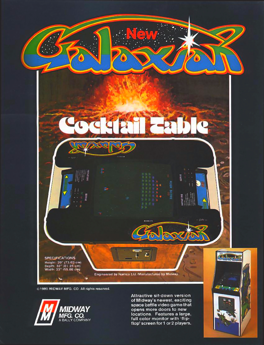 Galaxian (Midway set 2) flyer