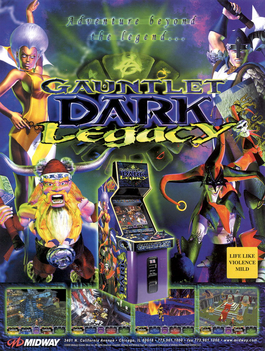 Gauntlet Dark Legacy (version DL 2 52) ROM < MAME ROMs | Emuparadise