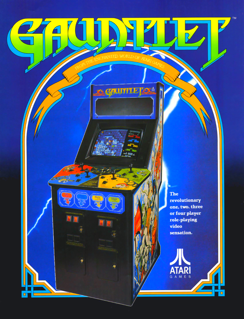 Gauntlet (rev 14) flyer