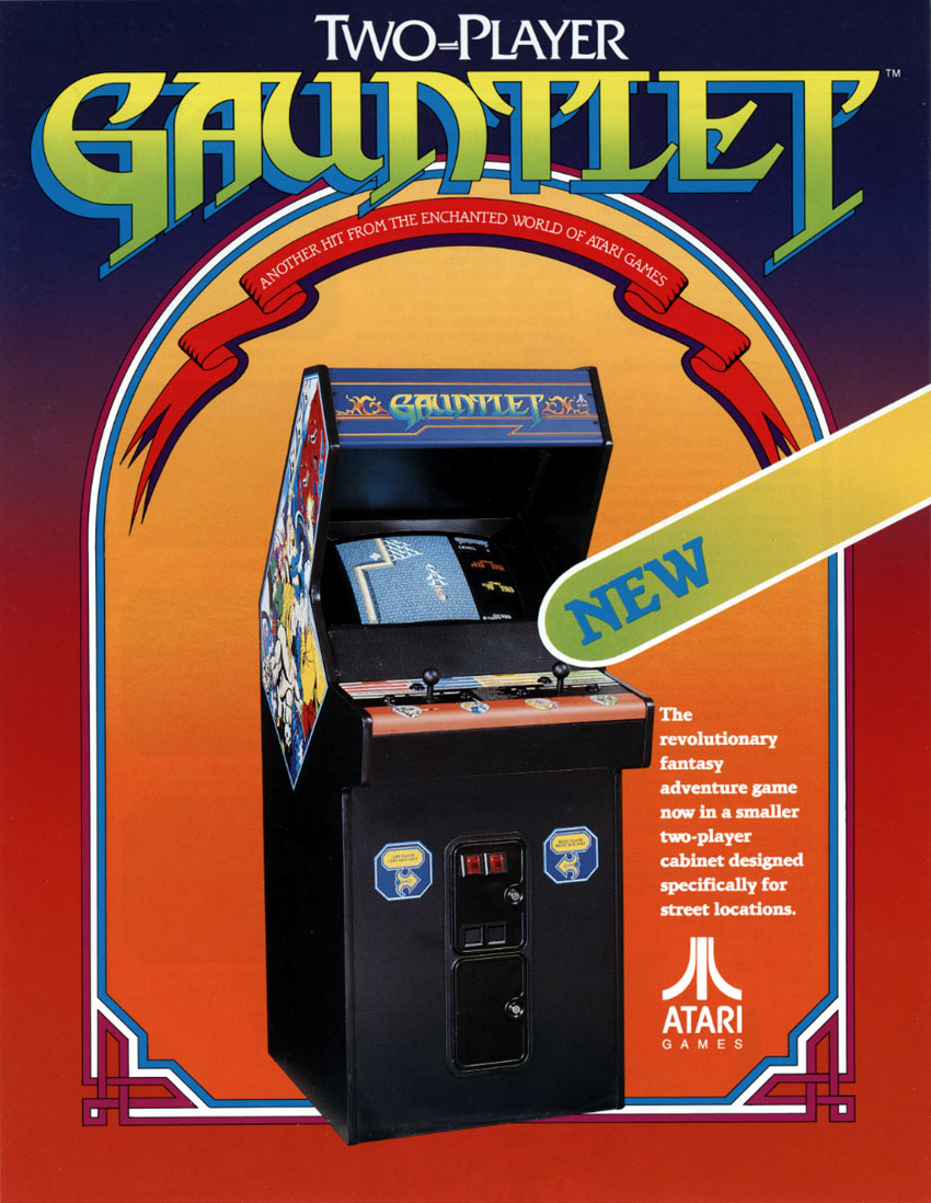 Gauntlet (2 Players, rev 6) flyer