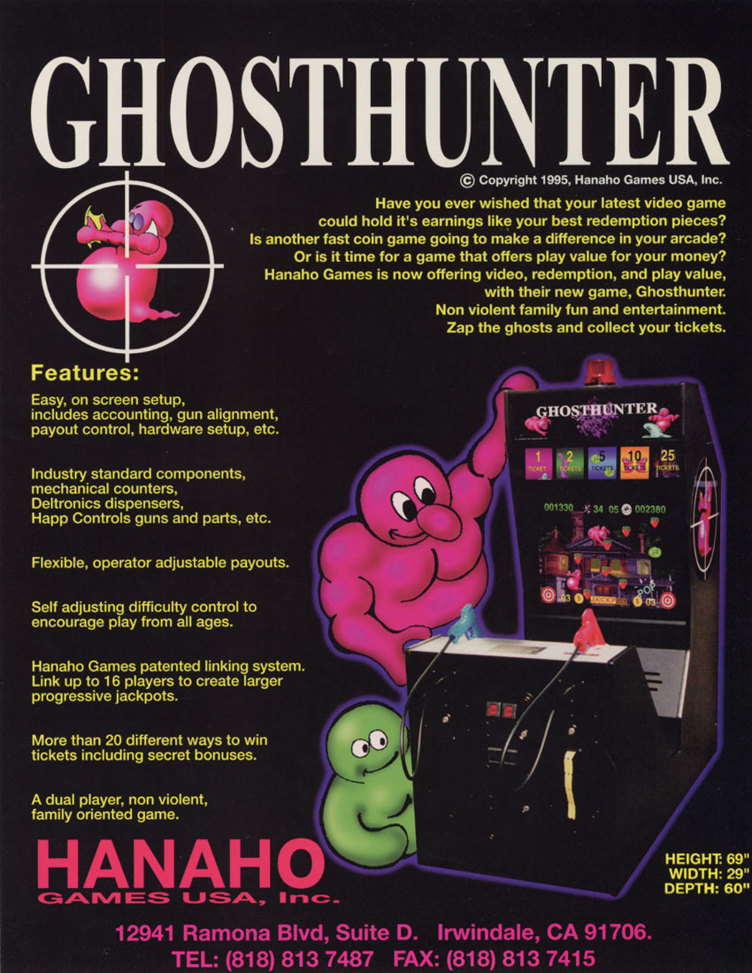 Ghost Hunter flyer