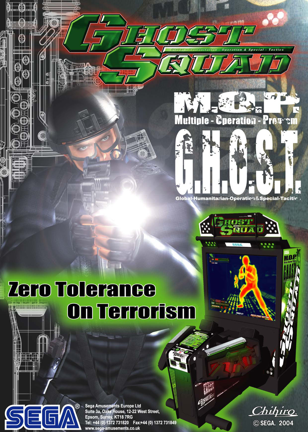 Ghost Squad (Rev A) (GDX-0012A) flyer