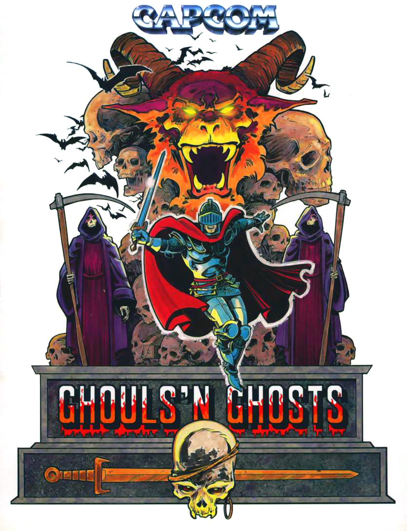 Ghouls'n Ghosts (World) flyer