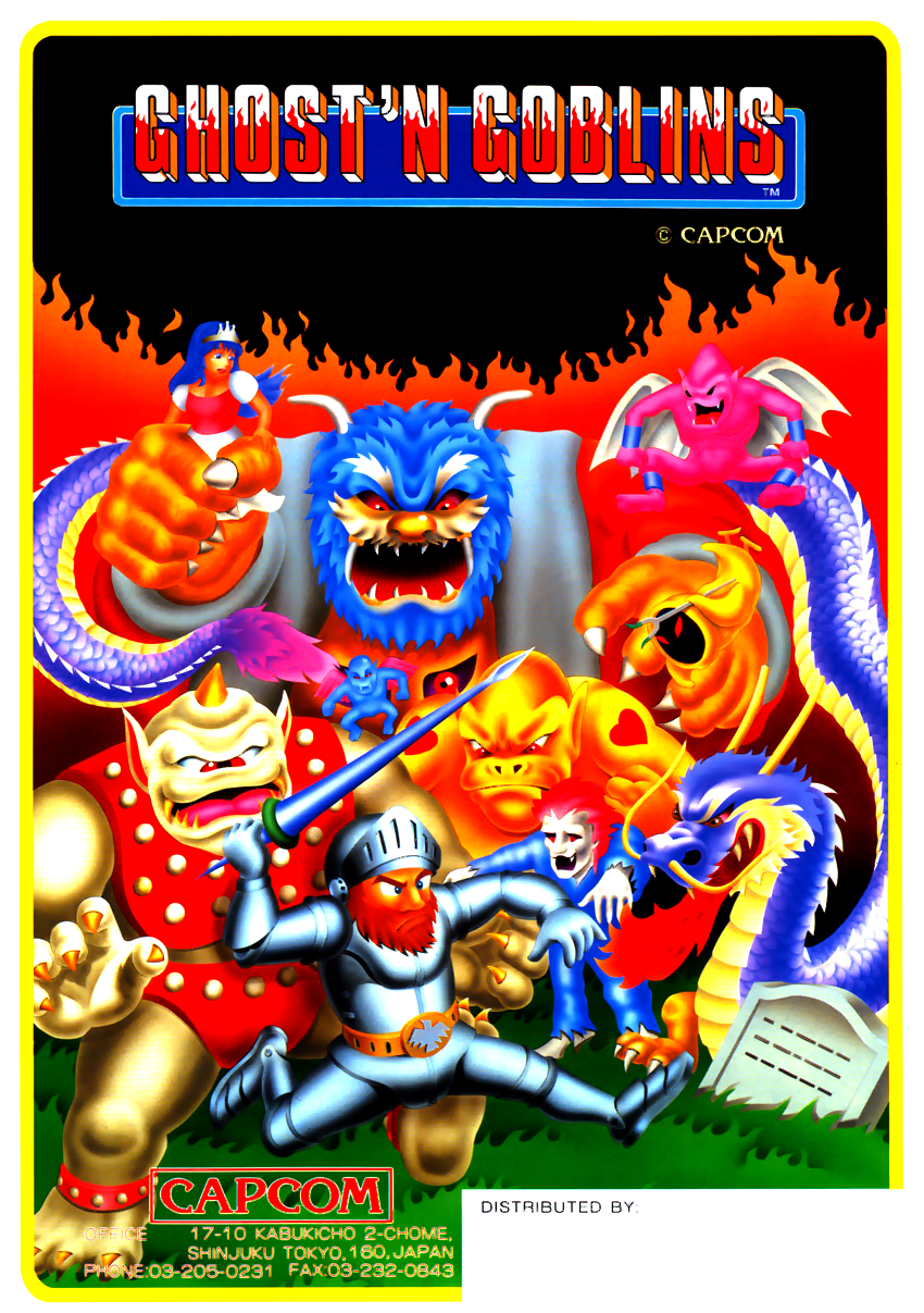 Ghosts'n Goblins (World? set 1) flyer