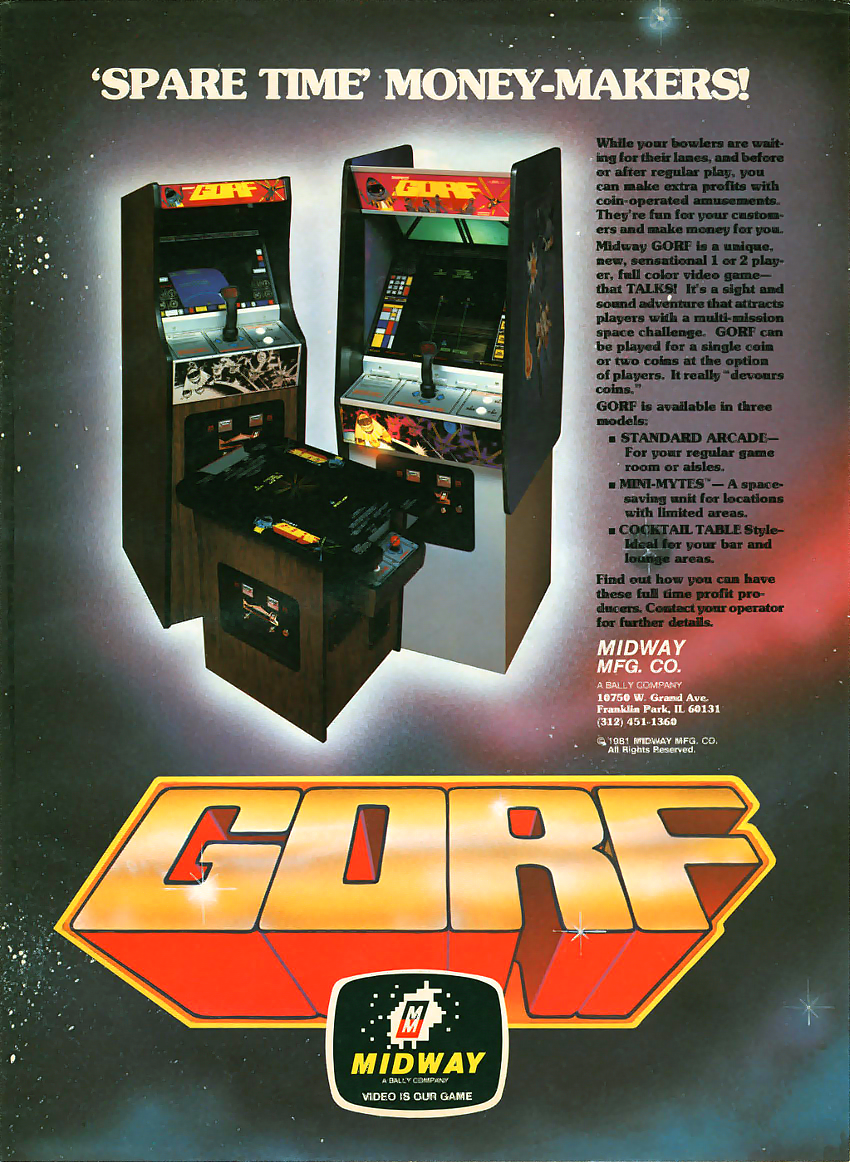 Gorf (program 1) flyer