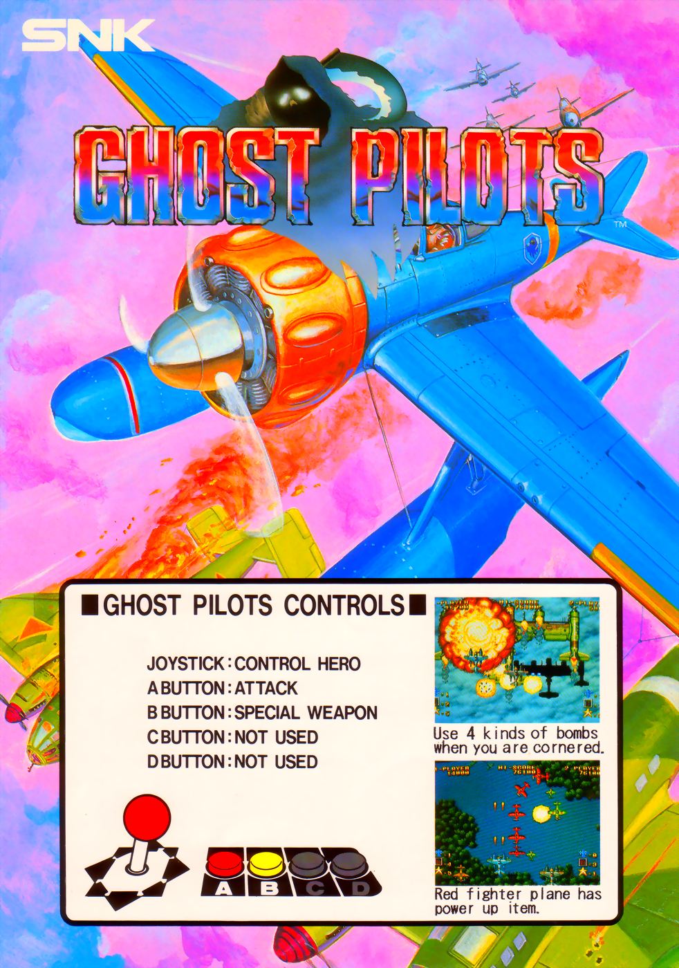Ghost Pilots (NGM-020 ~ NGH-020) flyer