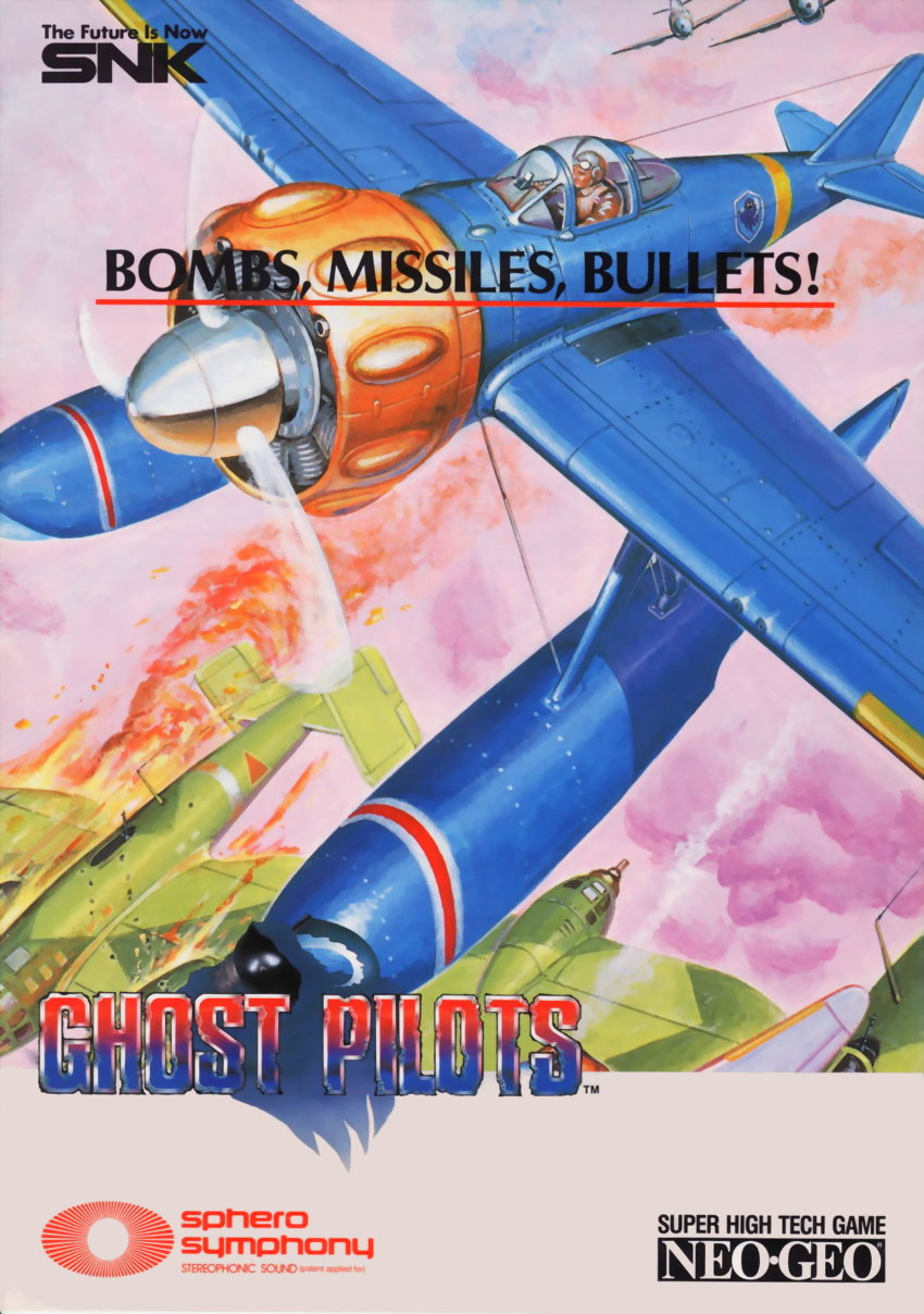 Ghost Pilots (NGH-020, US) flyer