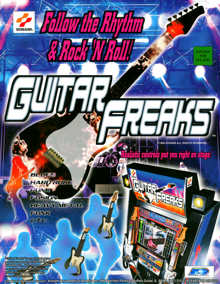 Guitar Freaks (GQ886 VER. EAC) flyer