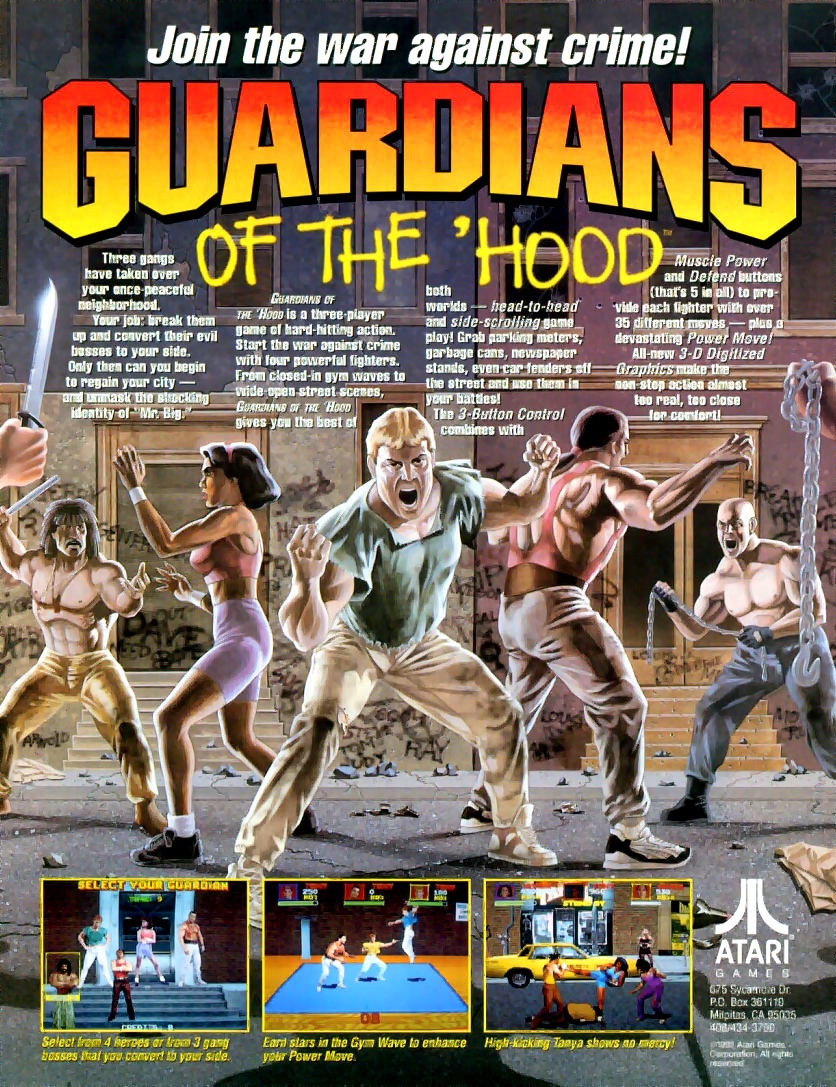 Guardians of the 'Hood flyer