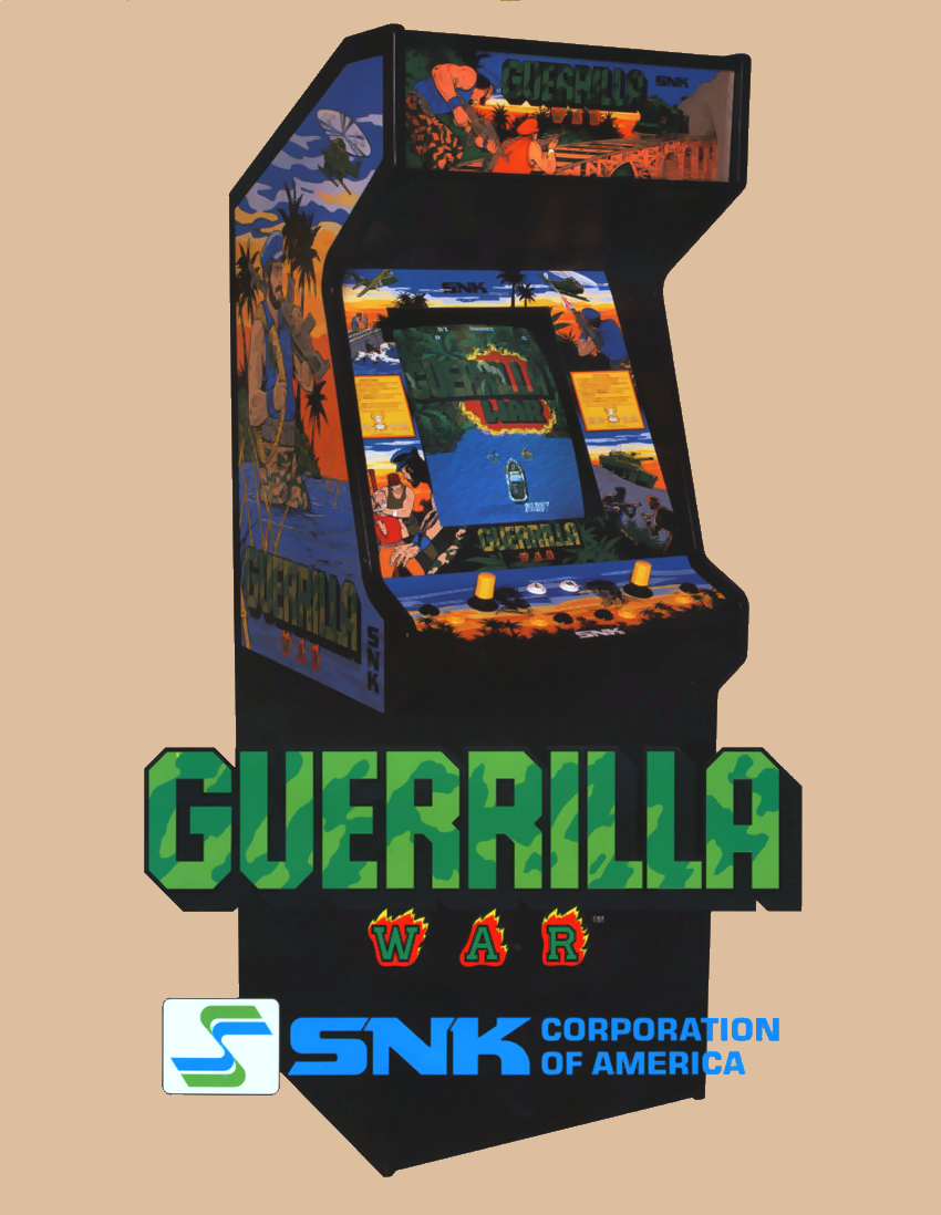 Guerrilla War (US) flyer