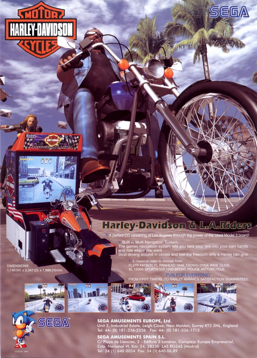 harley-davidson and l.a. riders (revision b) rom < mame roms