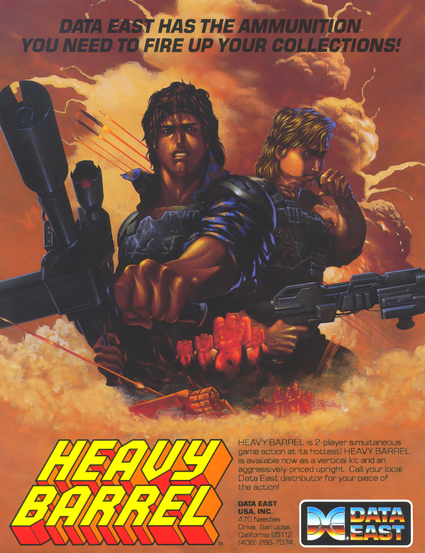 Heavy Barrel (US) flyer