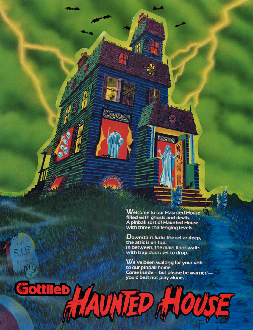 Haunted House (Rev. 2) flyer