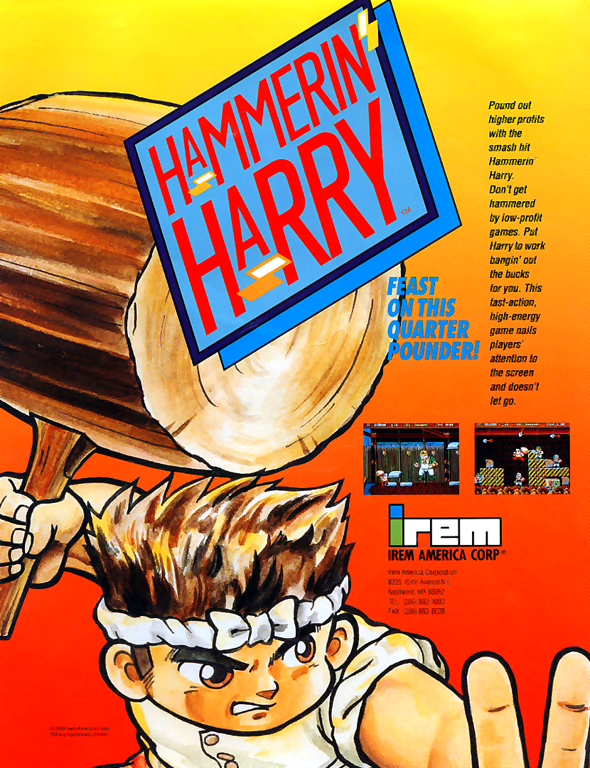 Hammerin' Harry (World, M81) flyer