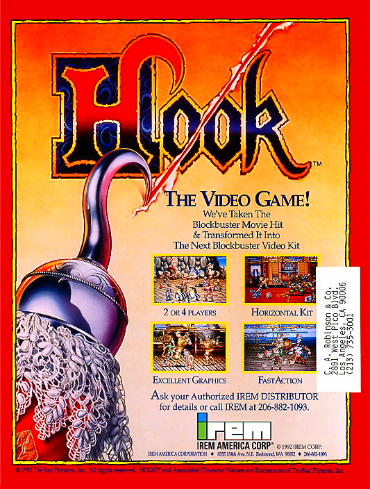 Hook (US) flyer