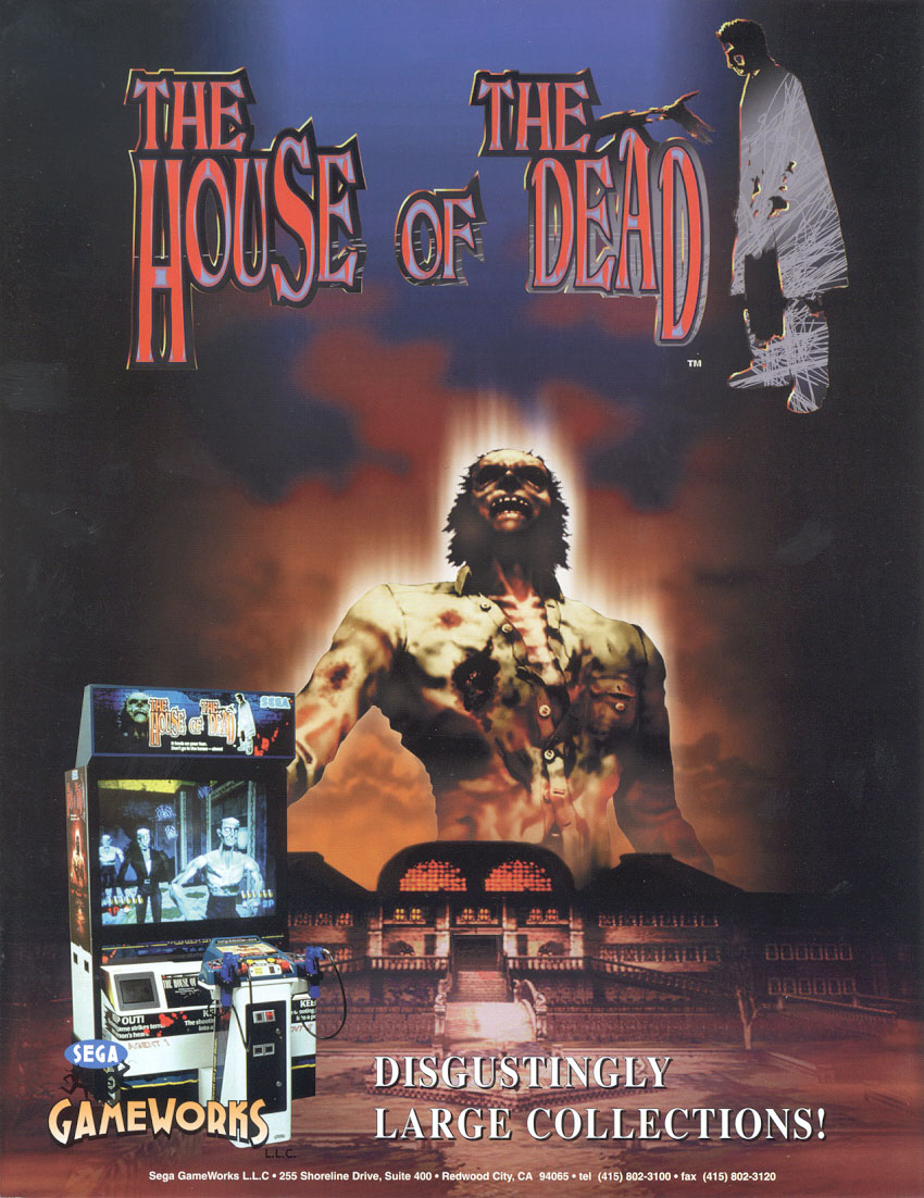 House of the Dead flyer House of