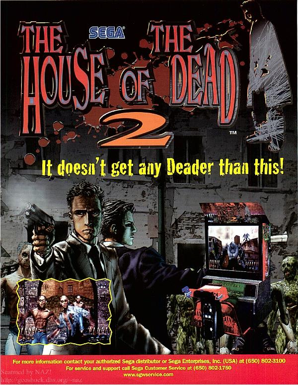 House Of The Dead 2 Usa Rom Mame Roms Emuparadise