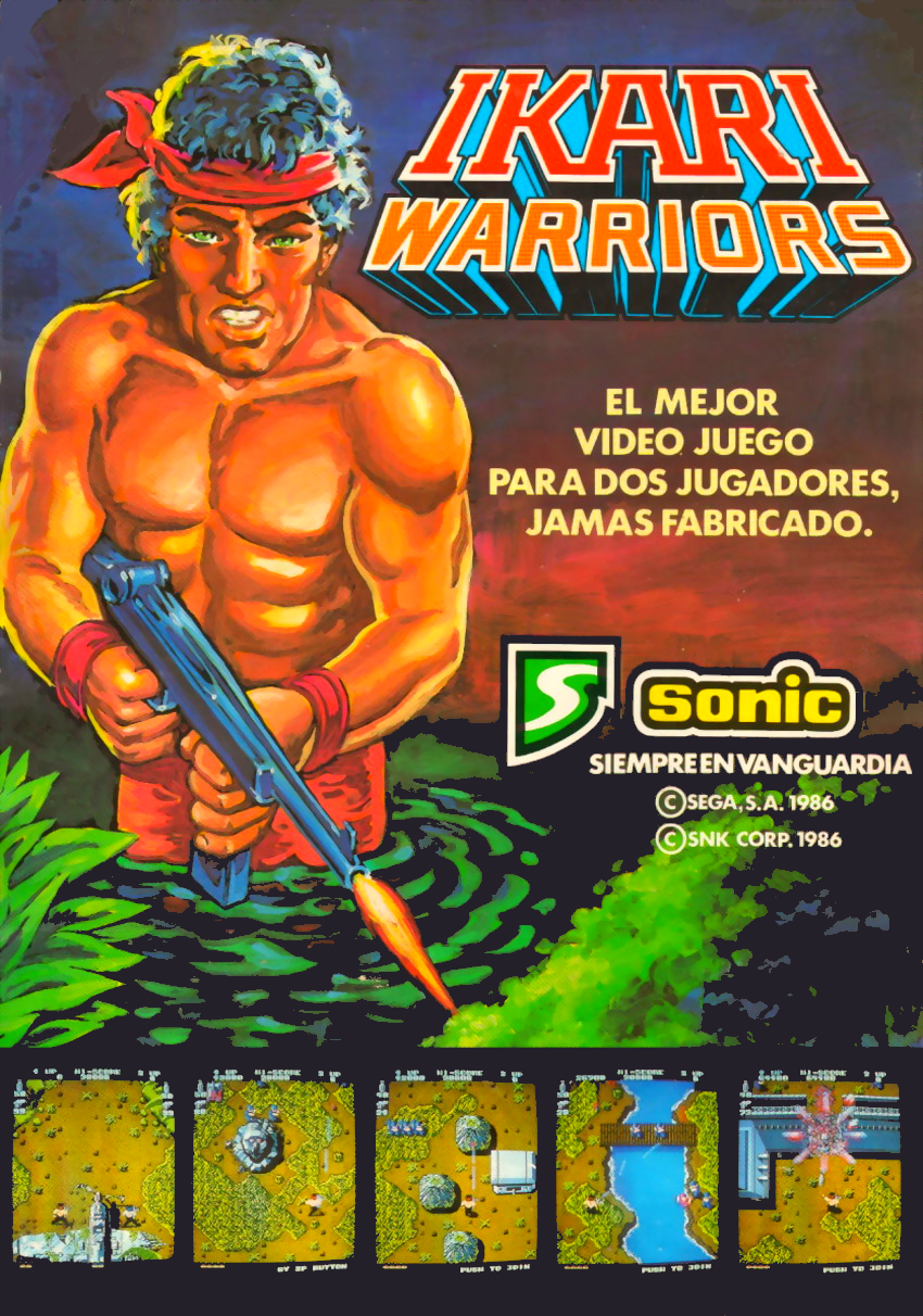 Ikari Warriors (US JAMMA) flyer