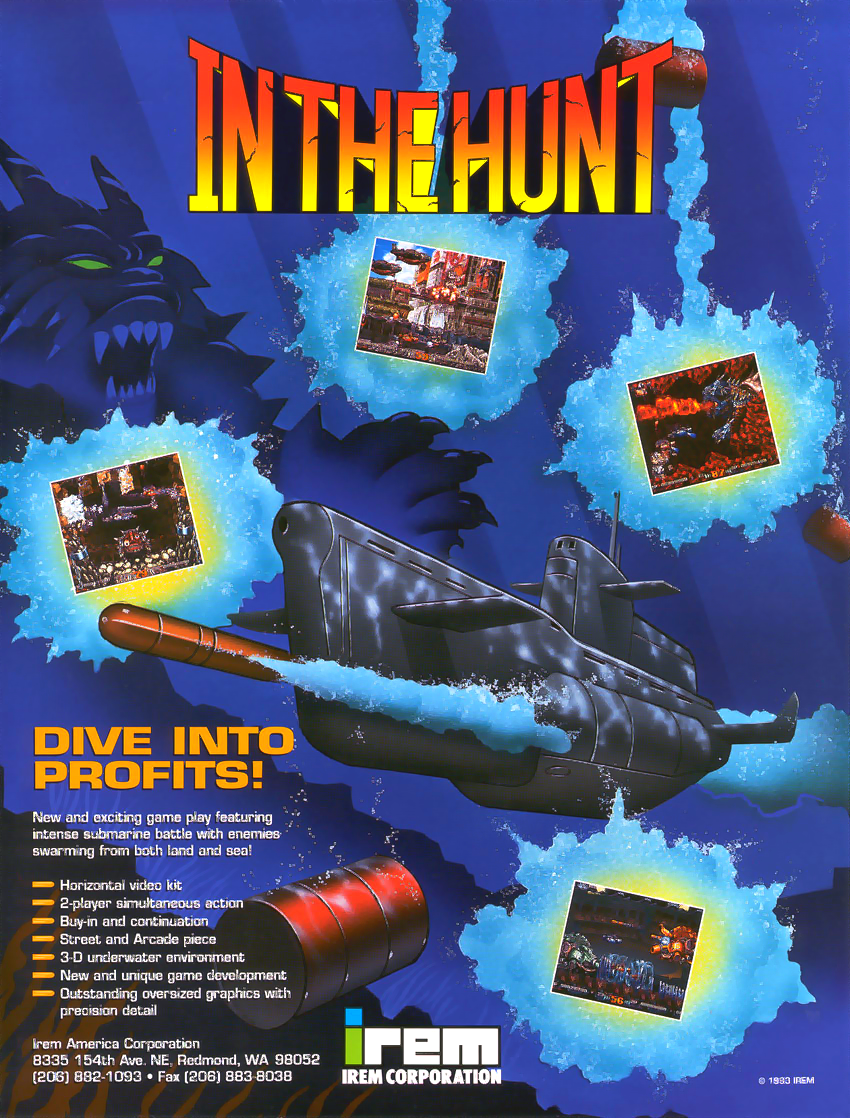 In The Hunt (World) flyer