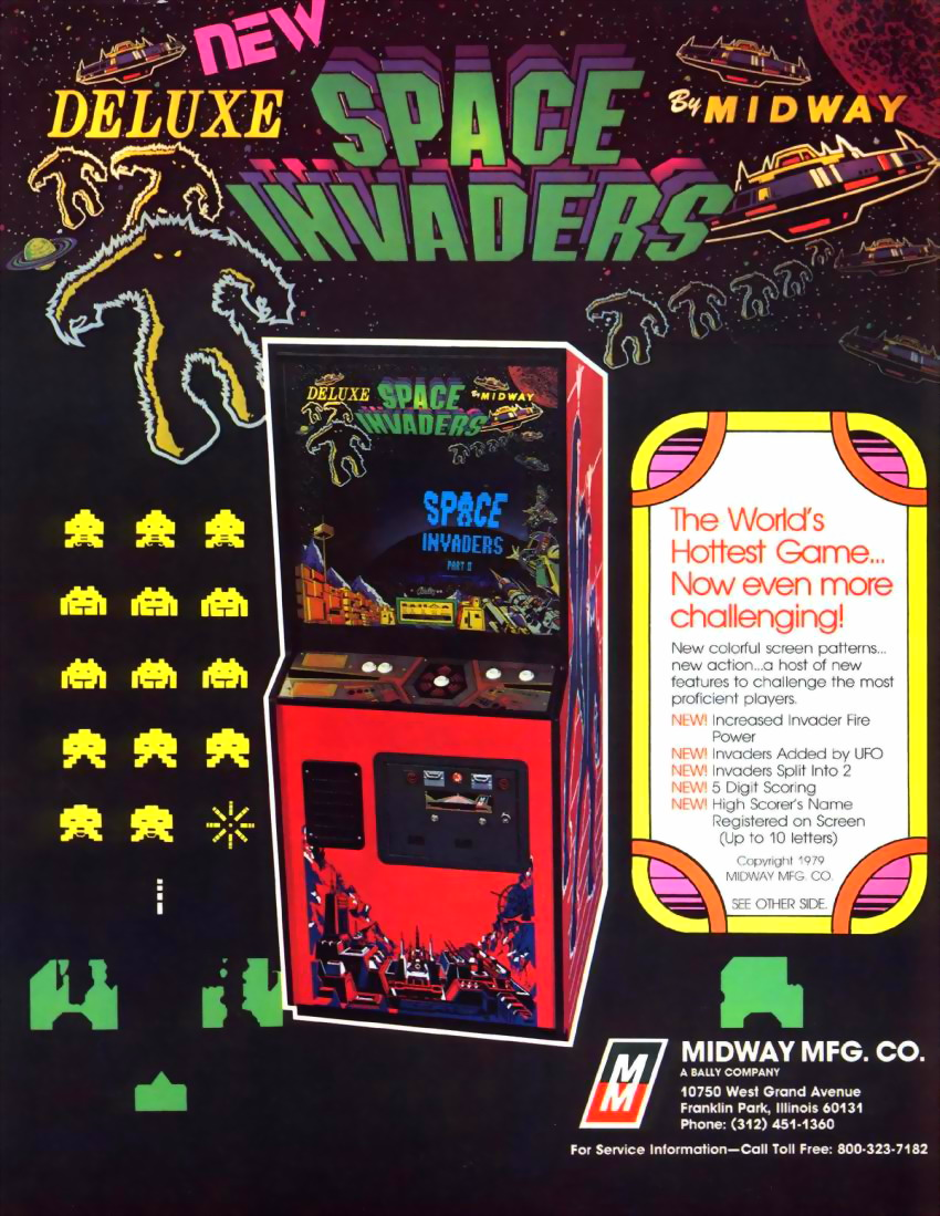 Space Invaders Deluxe flyer