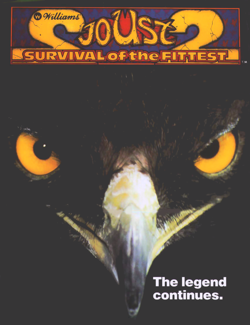 Joust 2 - Survival of the Fittest (revision 2) flyer