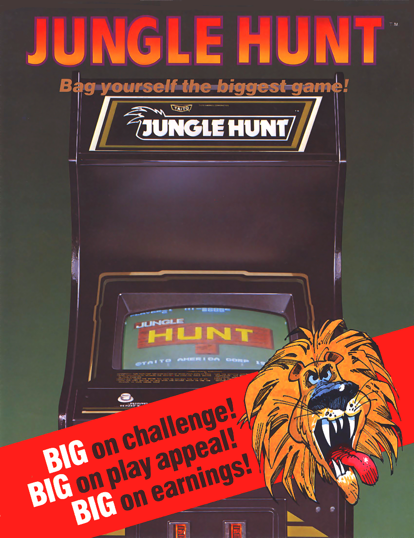 Jungle Hunt (US) flyer