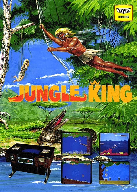 Jungle King (Japan, earlier) flyer