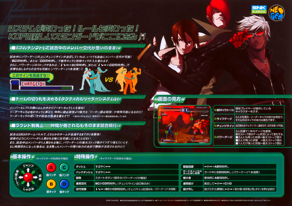 The King of Fighters 2003 (bootleg set 2) flyer